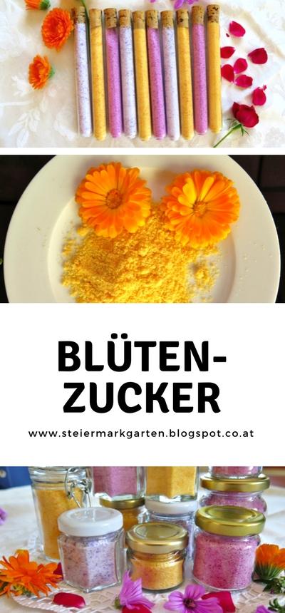 Blütenzucker-Pin-Steiermarkgarten