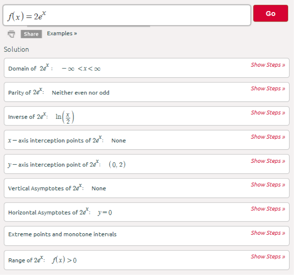 Symbolab Blog Functions