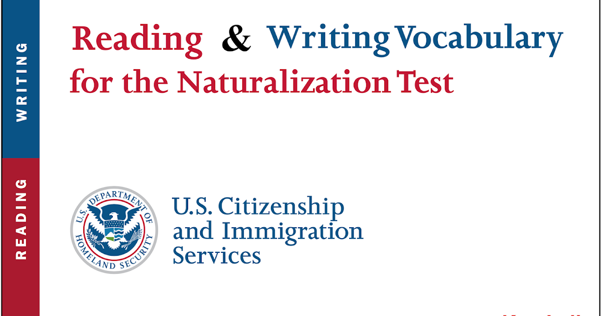 KateLalit Blogspot: US Citizenship Test - Reading and ...