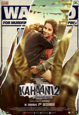 Kahaani 2 Movie First Look And Poster
