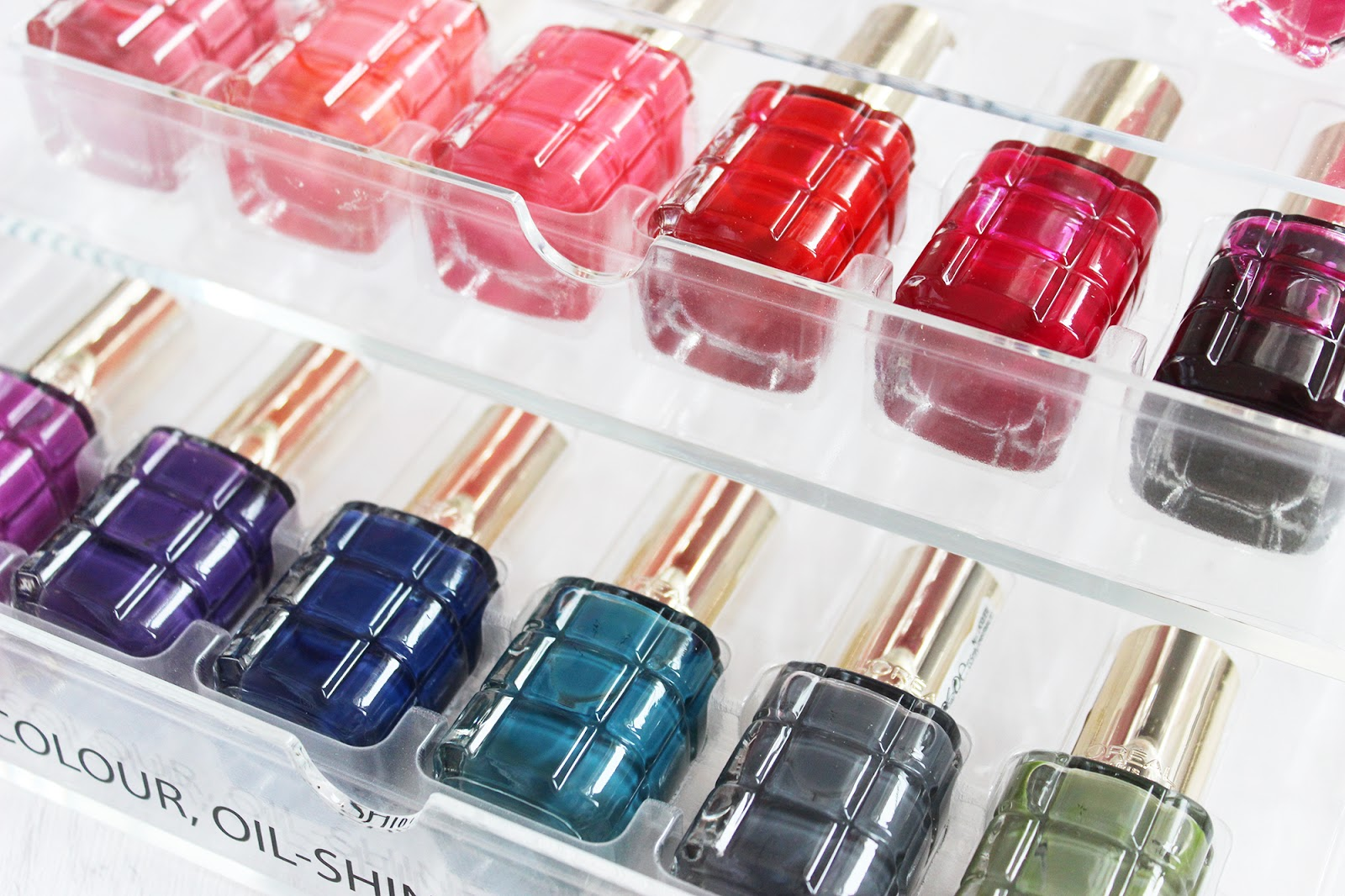 L'Oreal Colour Riche Le Vernis a L'Huile nail polishes | Tales of ...