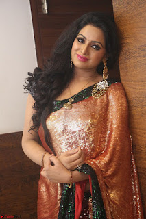 Udaya Bhanu lookssizzling in a Saree Choli at Gautam Nanda music launchi ~ Exclusive Celebrities Galleries 090.JPG