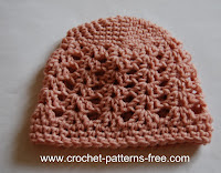 free crochet baby hat patterns-crochet patterns-free