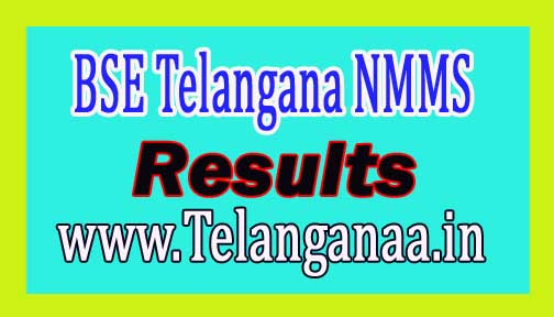 BSE Telangana NMMS Results 2016 bse.telangana.gov.in