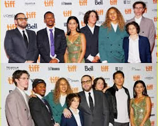 Jonna Hill and the Mid90's cast premier in Toronto Film Festival