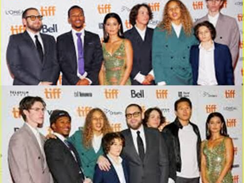 Jonna Hill and the Mid90's casts in Toronto Film Festival