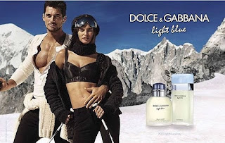 Ligh Blue Dolce and Gabanna