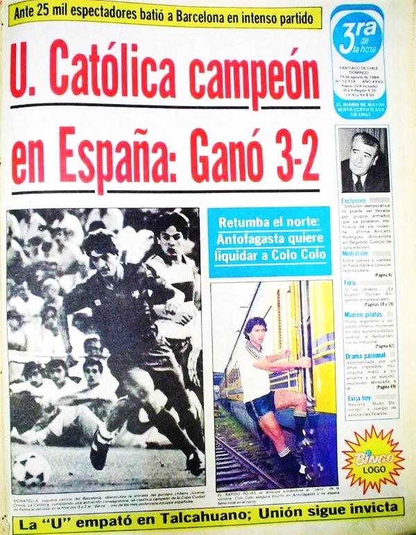 COLUMNA DE RAZTA: Trofeo Ciudad de Palma 1984 en la prensa ...