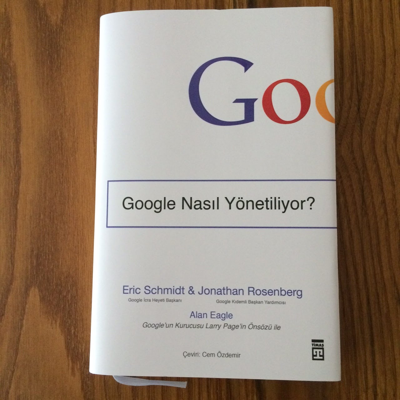 Google Nasil Yonetiliyor? (Kitap)