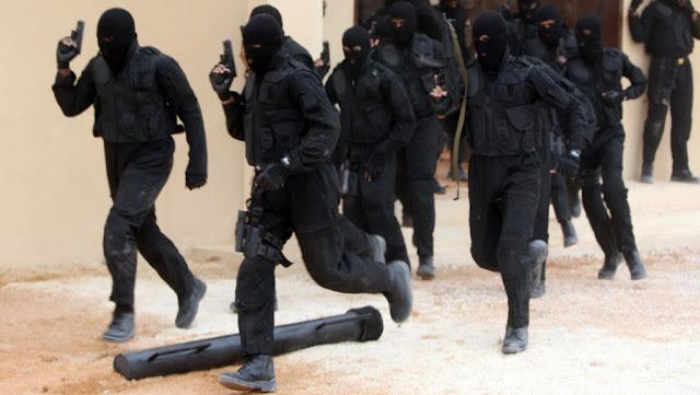 مقتل 12 من عناصر إرهابية ومصادرة اسلحة وقنابل بحوذتهم