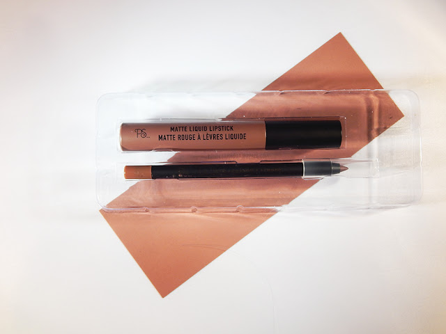 Primark Lip kit in the shade chocolate brownie review