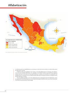 Apoyo Primaria Atlas de México 4to Grado Bloque II Lección 11 Alfabetización
