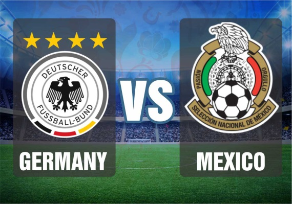 Germany vs Mexico, Group F fixtures between Germany and Mexico