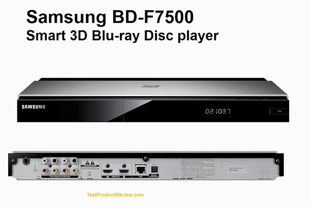 Samsung BD-F7500 Smart 3D Blu-ray Disc player
