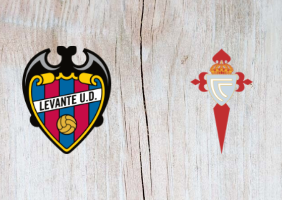 Levante vs Celta Vigo - Highlights - 27 August 2018
