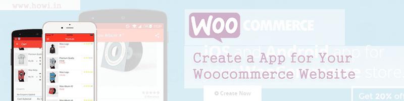 Woocommerce Online Android App Builder