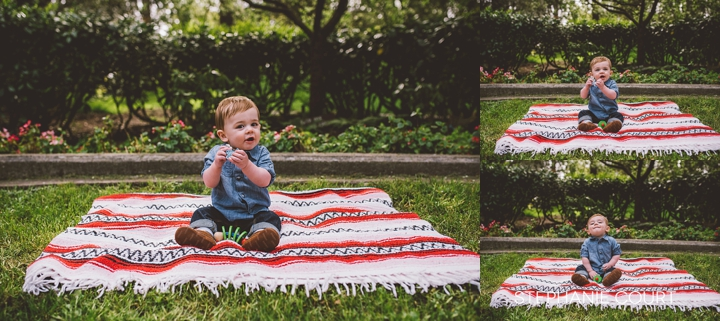 nine month baby photos