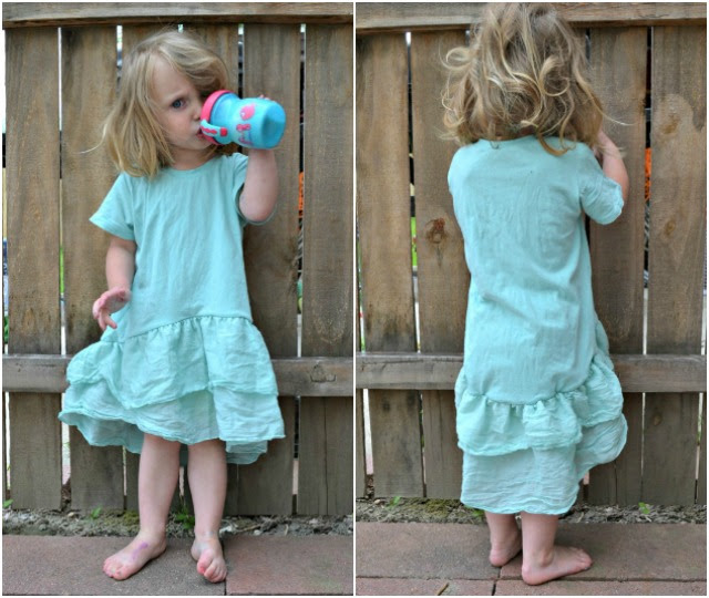 Sewing for Girls - Mini Briar Tee Dress