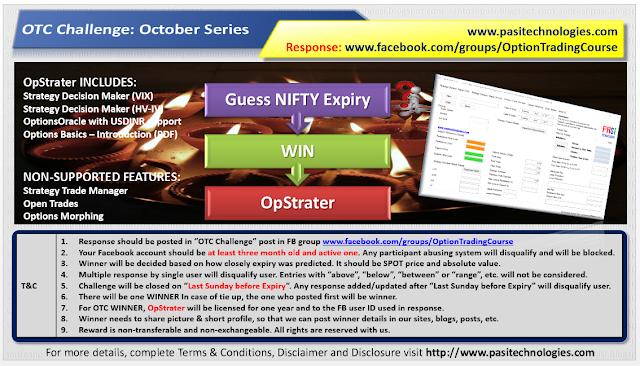 OTC Challenge: October Series, 2017