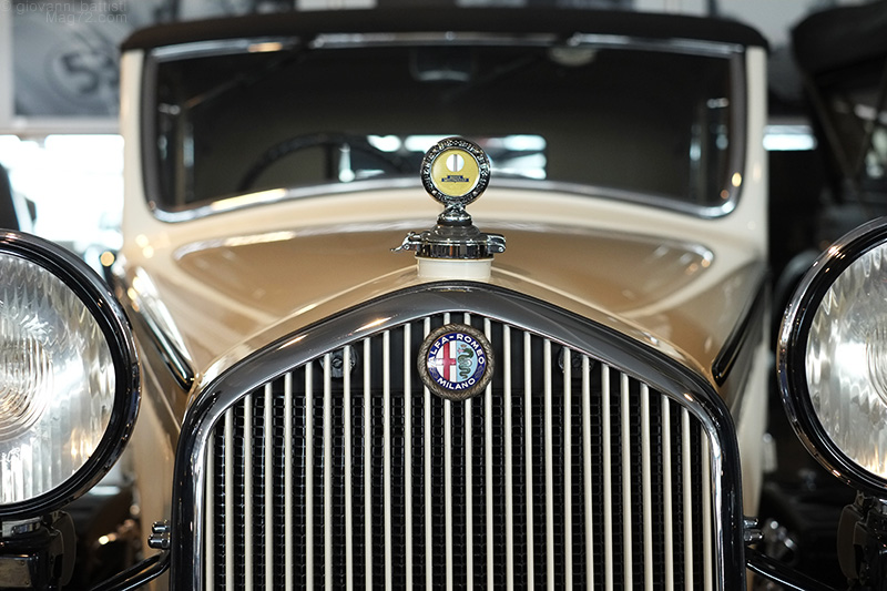 Museo Nicolis, automobile Alfa Romeo d'epoca