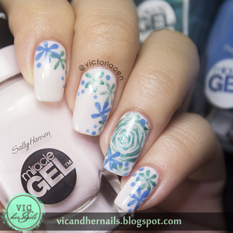Vic And Her Nails Sally Hansen Miracle Gel Nail Polish