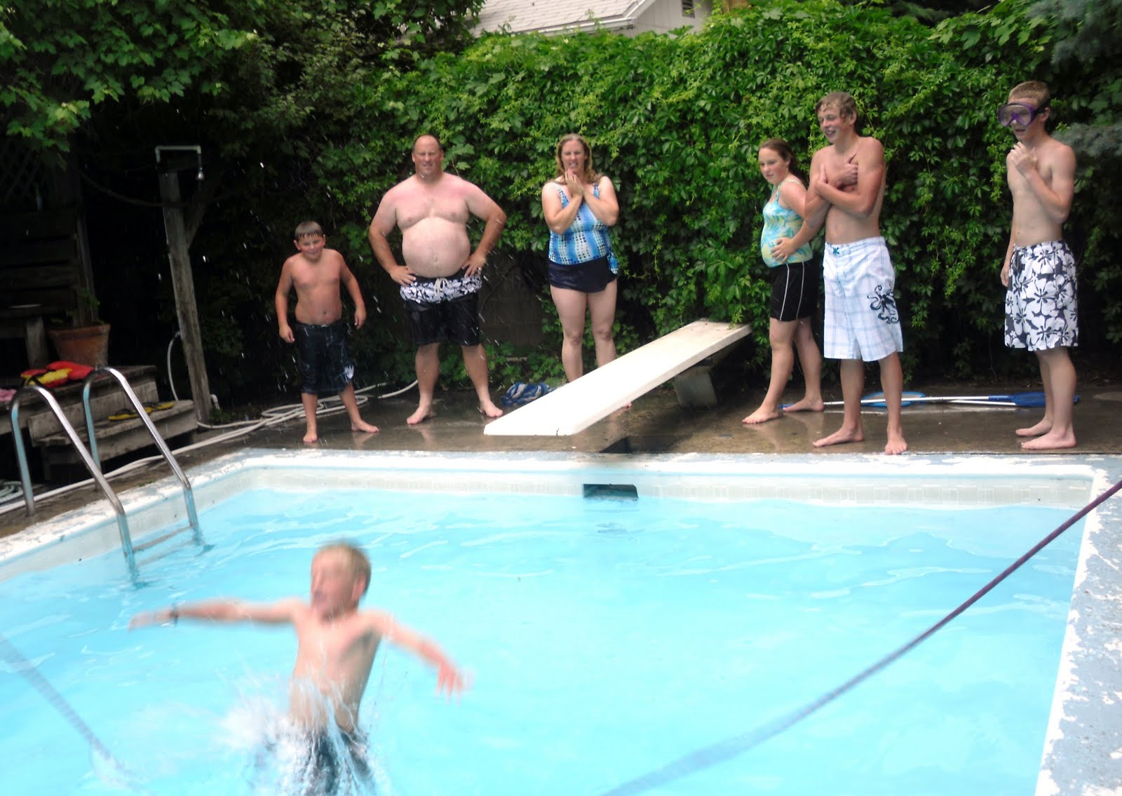The James Family July 4th Pool Party