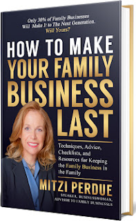 How to make your family business last book cover