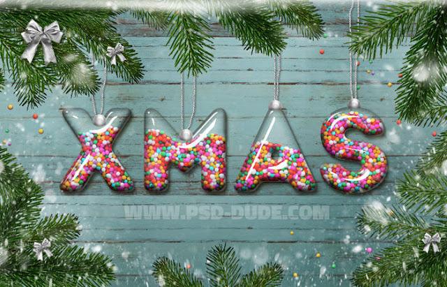 Tutorial Membuat Desain Bola Kaca Natal di Photoshop