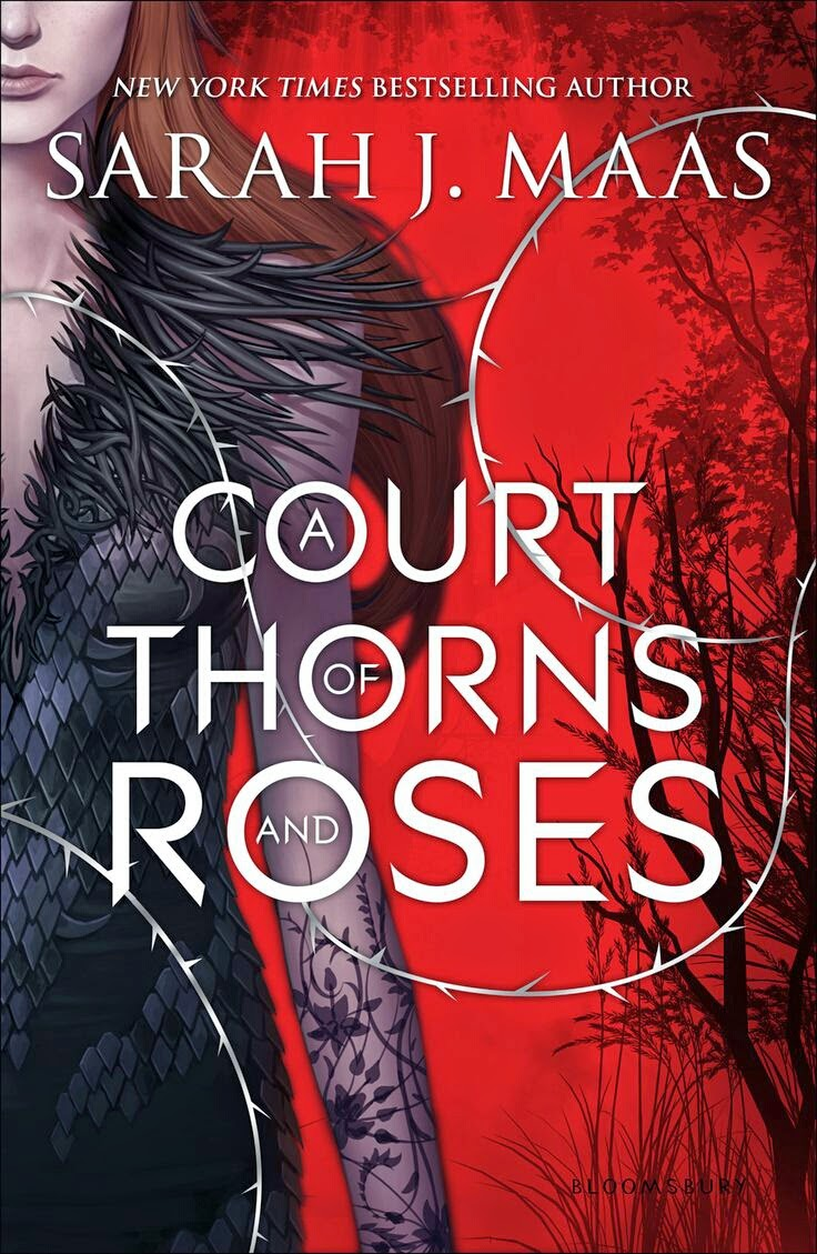 A Court of Thorns and Roses by Sarah J. Maas book cover and review