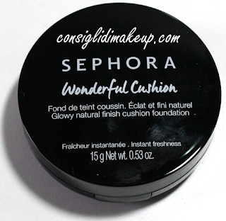 Review: Fondotinta Wonderful Cushion - Sephora