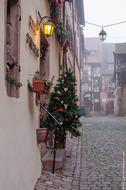 Riquewihr Alsacia pueblos encanto Francia