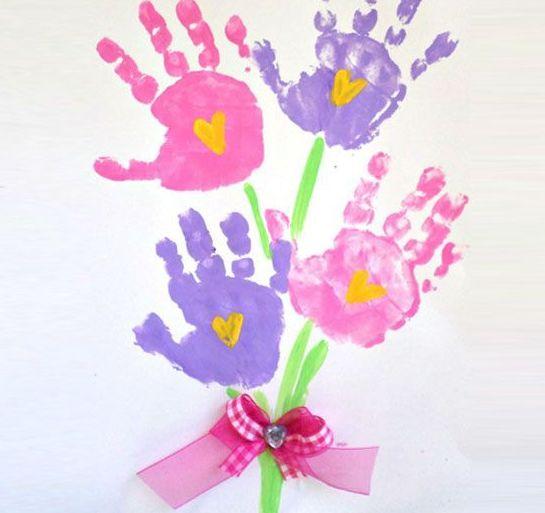 Παιδικές Κατασκευές για την Γιορτή της Μητέρας