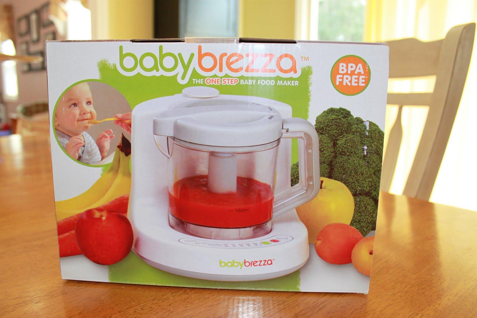 Baby Brezza Bpa Free One Step Baby Food Maker