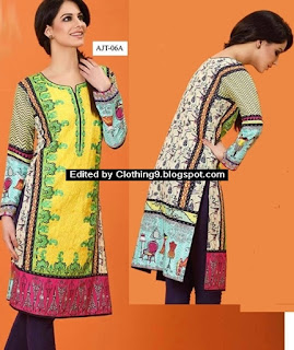 Asim Jofa Tunic Collection 2016
