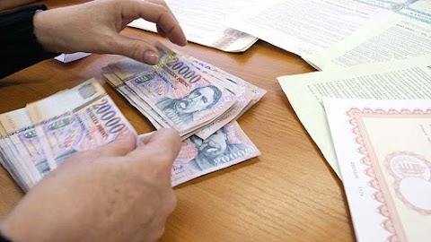 Emelkedett a 3, az 5 és a 10 éves államkötvények aukciós átlaghozama
