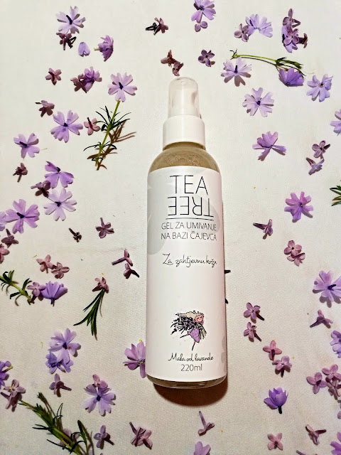 facial wash, gel za umivanje, tea tree, čajevac