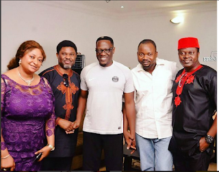 Kwara State Governor & Many Star Actors At Comic Actor, Mr Latin's 50th Birthday Party