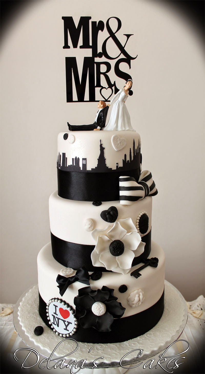 Delanas Cakes New York Wedding Cake