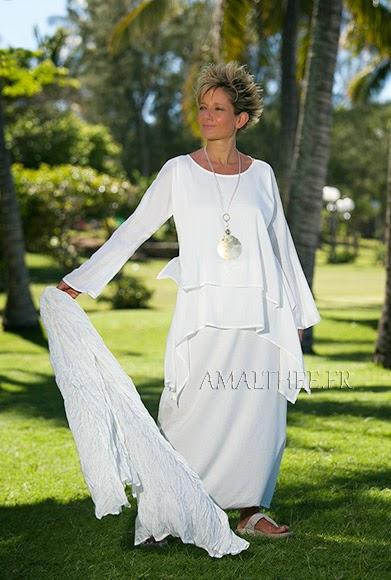 vestido estilo lagenlook
