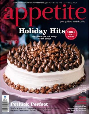 Télécharger Gratuitement Appetite Magazine pdf