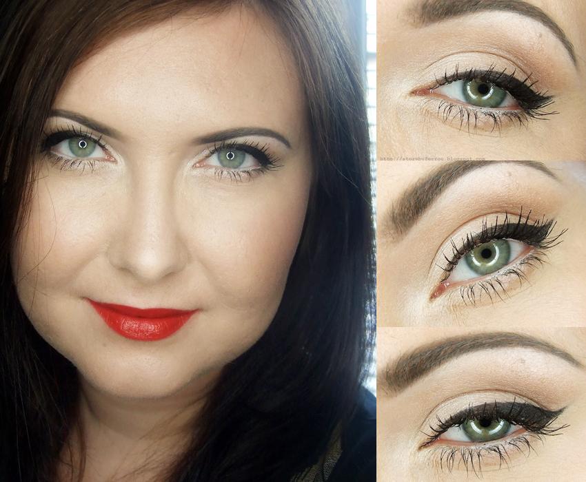 Ferrou Makeup Blog Makijaż Kosmetyki Klasyczny Rozświetlający
