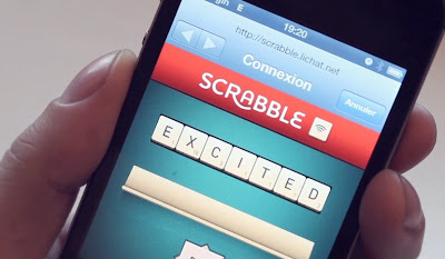 The Digital Post: Scrabble Wifi- The more you score the more wifi you can use