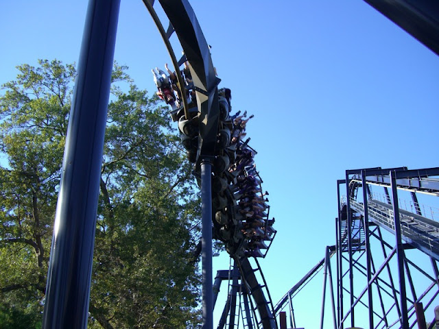 Roller Coaster at Six Flags