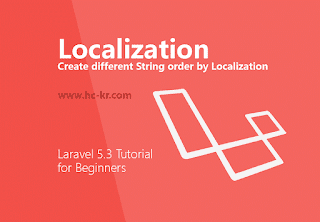 How to Create localization for Multiple languages in laravel 5.3