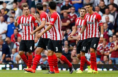 Southampton thực sự tiến bộ trong mùa giải Premier League