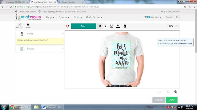 printcious, custom made gift, harga murah, harga terbaik, untuk yang tersayang, design sendiri, hadiah terbaik, firendly user, hadiah untuk mama, ayah, suami tersayang