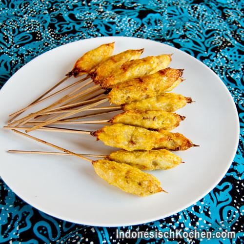 Bali Fisch Sate rezept