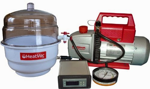 HeatVacXL w 5cfm Pump Heated Vacuum Chamber Official Review