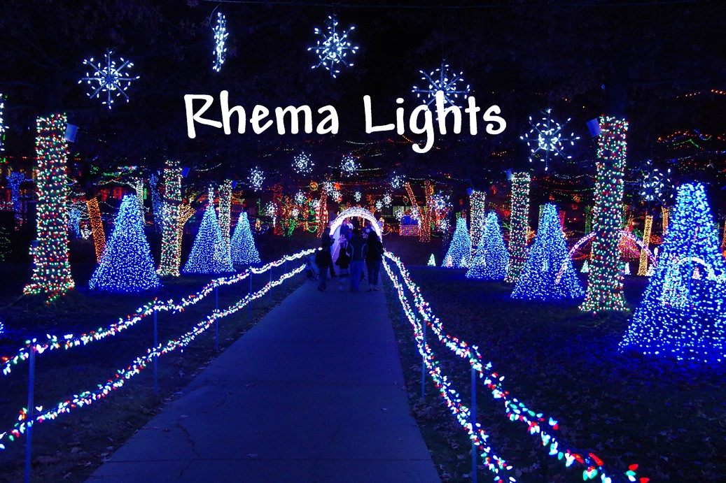 Rhema Christmas Lights.Living In The Peace Zone Christmas Lights And The Light Of