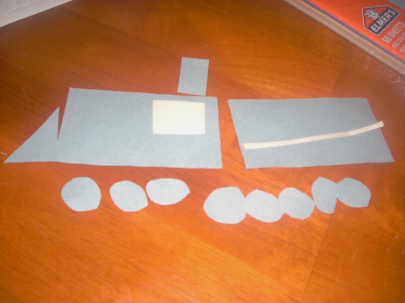 Making A Shapes Train